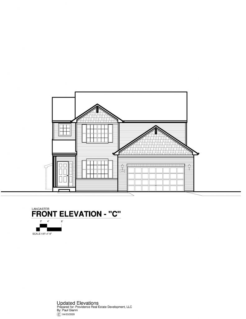 Lancaster Elevation Brochure - C