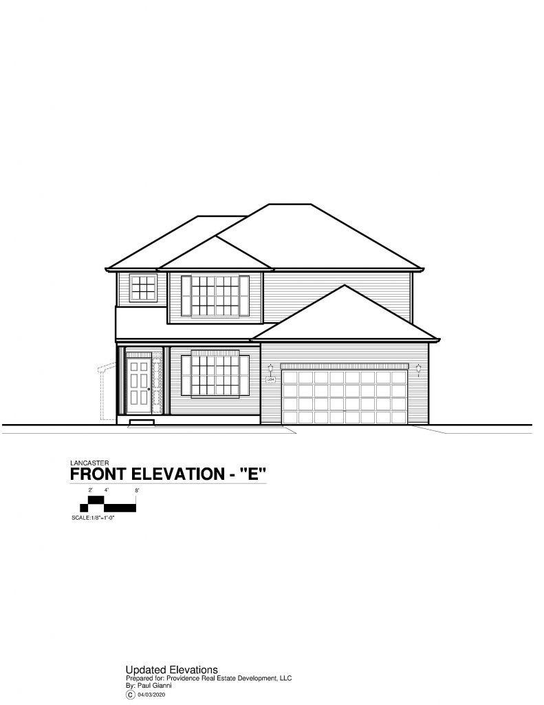 Lancaster Elevation Brochure - E