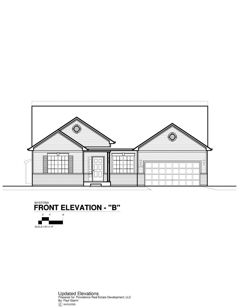 Wysteria Elevation Brochure - B