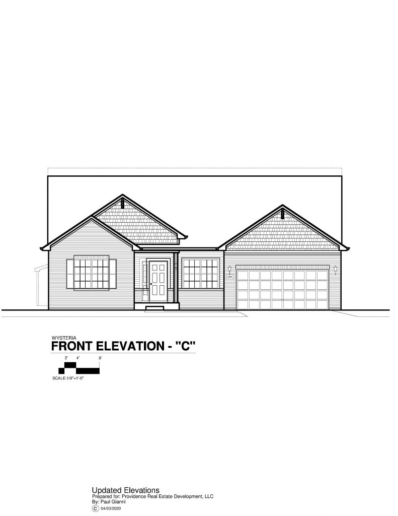 Wysteria Elevation Brochure - C