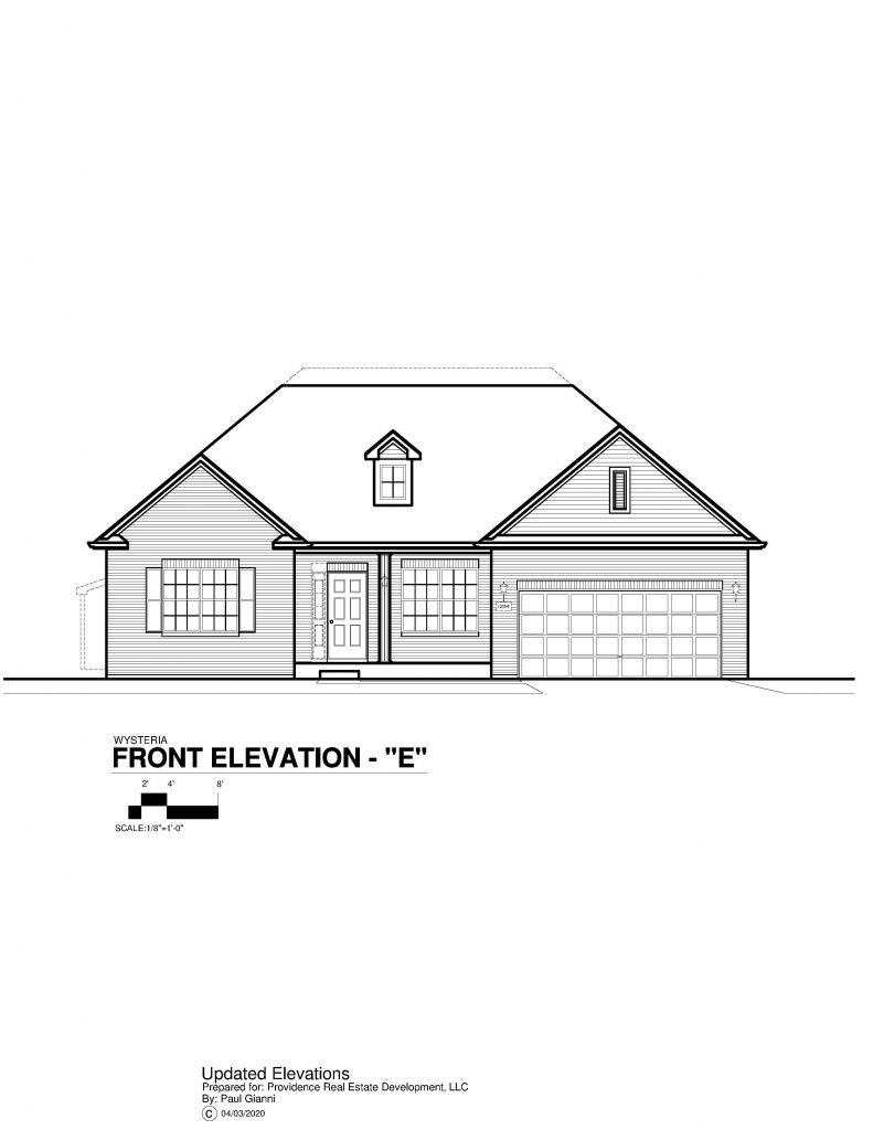 Wysteria Elevation Brochure - E